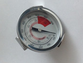Lynx hood thermometer