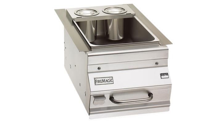 Firemagic Ice Bin Cooler for Bar Caddy