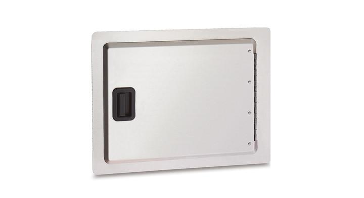 Firemagic Single Storage Door, Black Handle