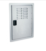 fire magic single built-in door with louvers