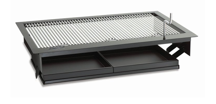 """Firemagic 30"""" Charcoal Firemaster Built-in Drop-in Grill"""