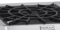 Fire Magic Side Burner grid