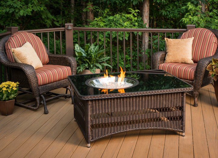 Naples Fire Pit Table by Outdoor Greatroom