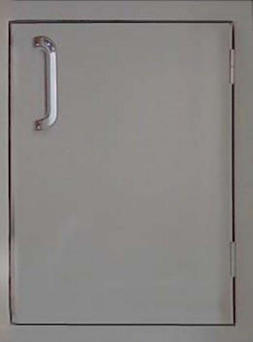 Built-in access door for outdoor kitchens