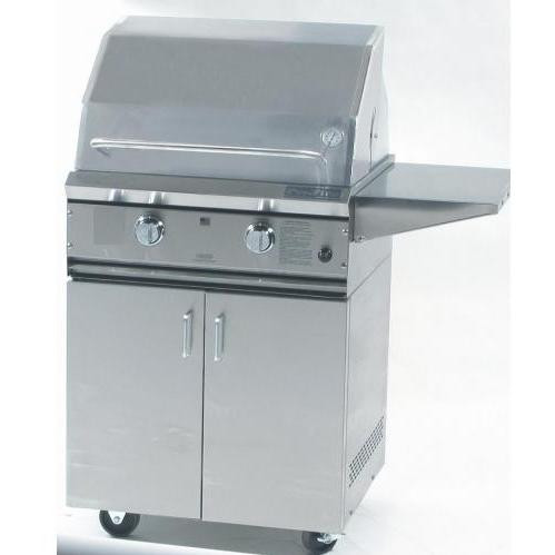 "ProFire 27"" grill on cart"