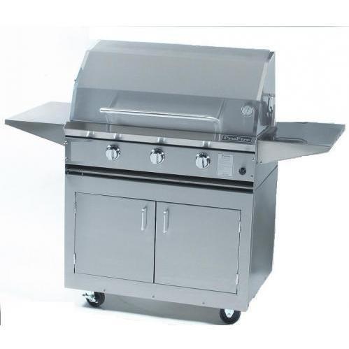 "ProFire 36"" Hybrid Grill On Cart"