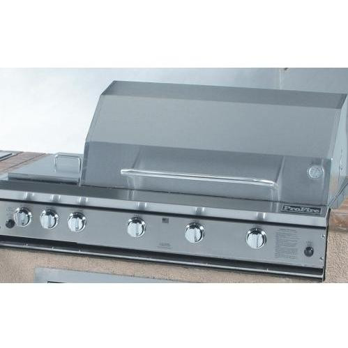 """ProFire 48"""" Built In Grill with Double Side Burner"""