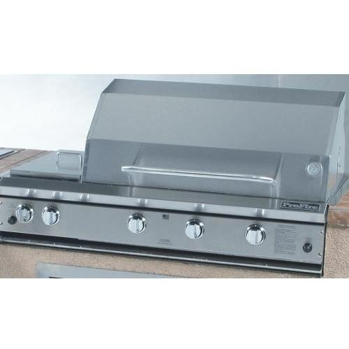 """ProFire 48"""" Hybrid Built In Grill with Double Side Burner"""