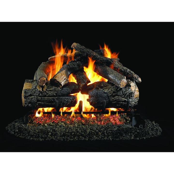 Pioneer Oak Vented Gas Log Set