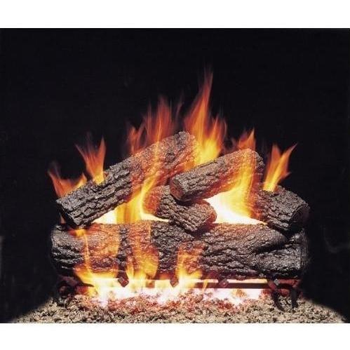 24-in Post Oak Vented Logs Only No Burner
