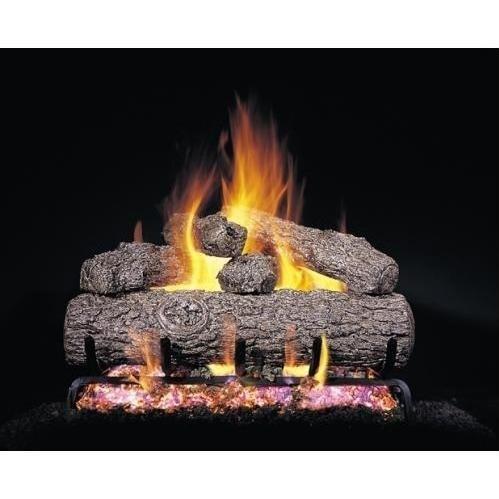 18-in Golden Oak Vented Logs Only, no Burner