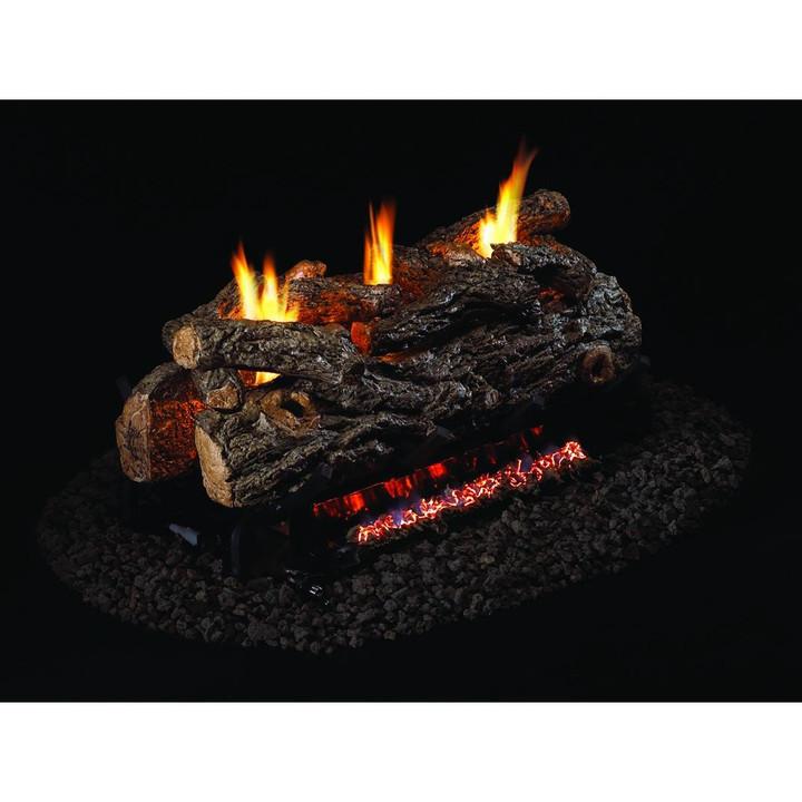 Golden Oak Designer Gas Logs