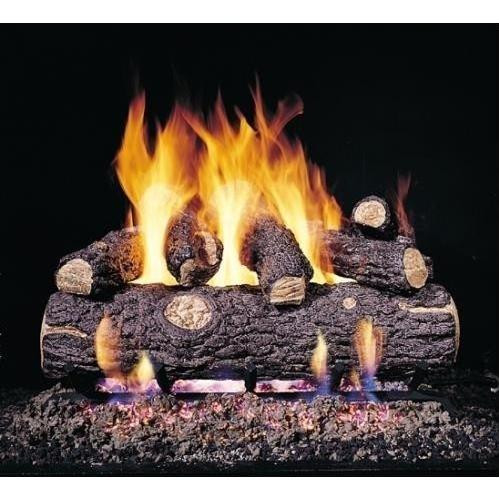 Peterson 18 Inch Golden Oak Designer Plus Logs Only No Burner