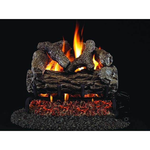 Peterson Real Fyre Golden Oak Vented Log Set W G4 Burner