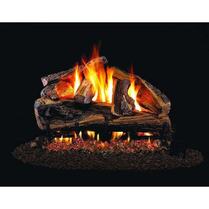 Rugged Split Oak Gas Logs