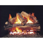 24-in Split Oak Logs Only No Burner
