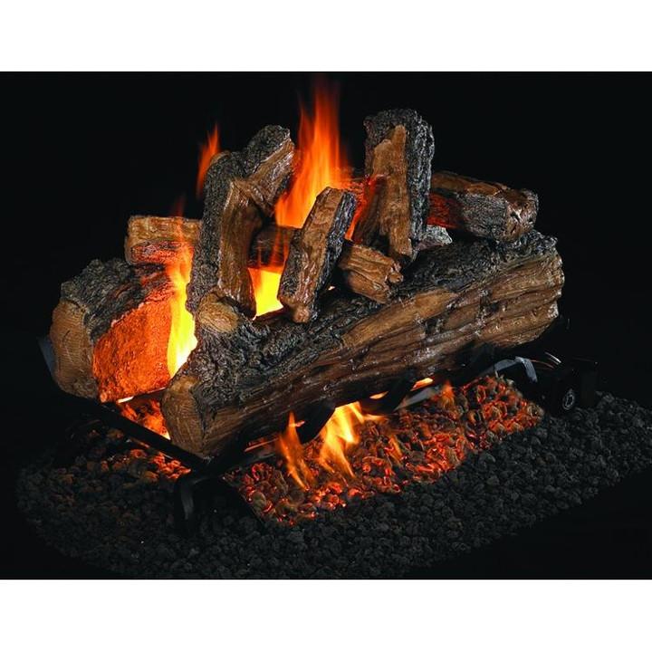 Split Oak Designer Plus See-Through Logs