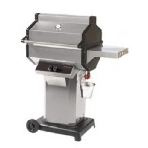 Phoenix Stainless Steel Grill On Stainless Cart