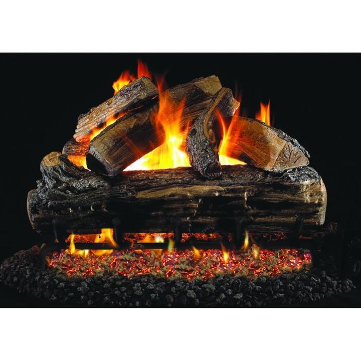 Split Oak Vented Log Set
