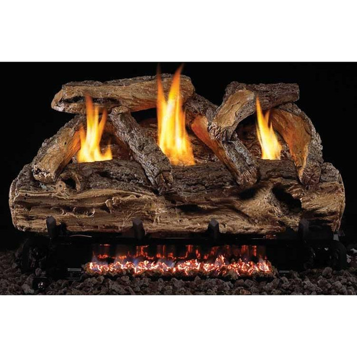 Split Oak Vent Free Log Set