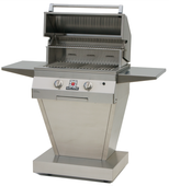Solaire 27GIR Grill w Angular Pedestal Base