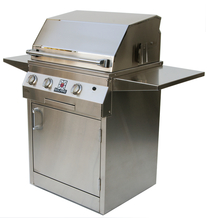 """Solaire 27"""" All Infrared Grill on Square Cart"""