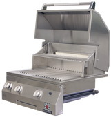 "Solaire 27"" Deluxe Built-In All Infrared Grill"