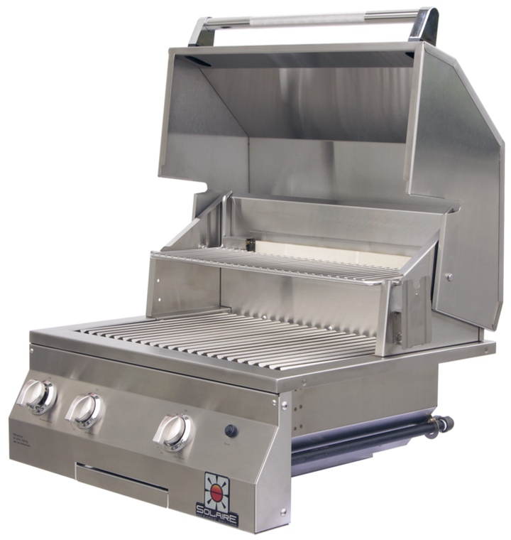 """Solaire 27"""" Deluxe Built-In All Infrared Grill"""