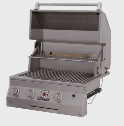 """Solaire 27"""" Deluxe InfraVection Built-in Grill"""