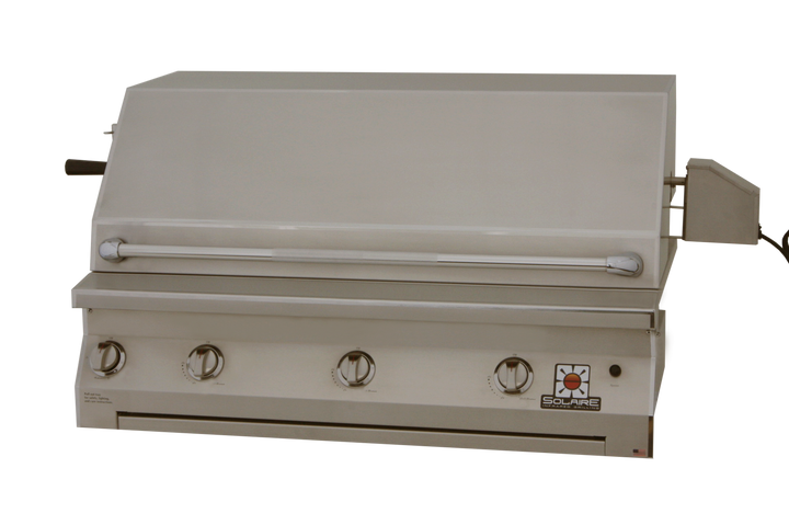 """Solaire AGBQ 42"""" Convection Built-in Grill with Rotisserie"""