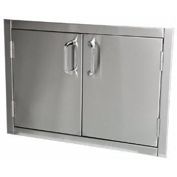 "Solaire 30"" Double Access Storage Doors"