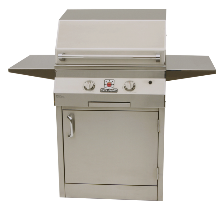 """Solaire 27"""" Deluxe Infrared Grill on Cart"""