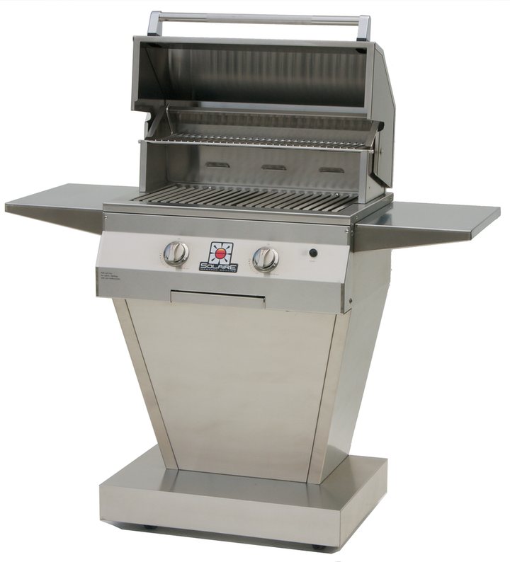 Solaire 27XL Deluxe Infrared Grill w Angular Base