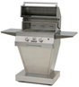 Solaire 27XL Deluxe Convection Grill on Angular Base