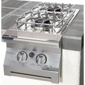 Solaire Built-in LP Double Side Burner | IRSB14
