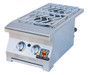 Solaire Cart Mounted Double Side Burner