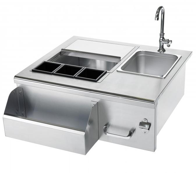 Summerset Professional Stainless Beverage Center w Sink
