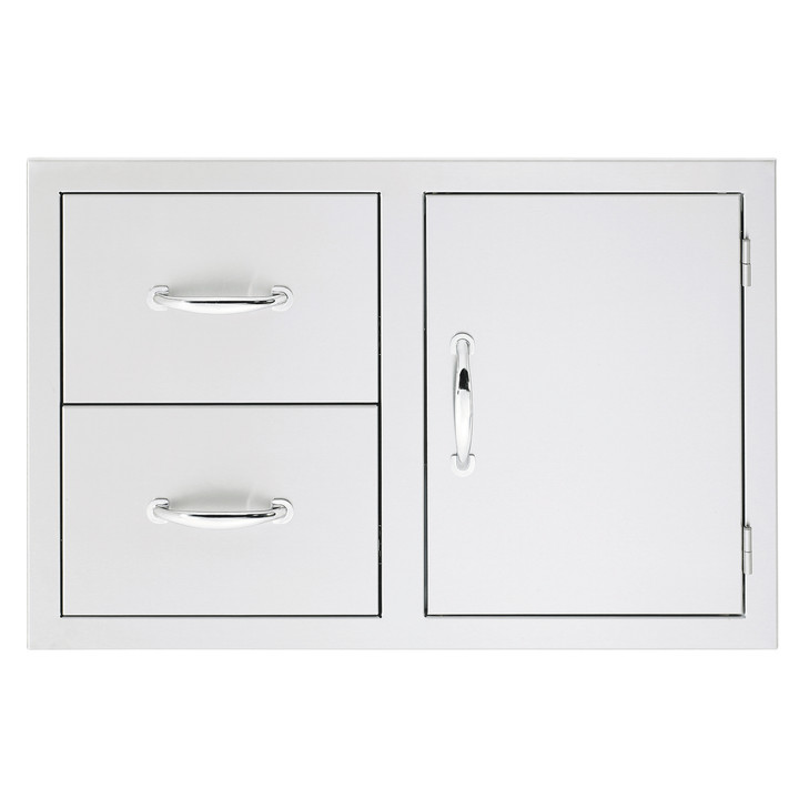 Summerset Built-in 2 Drawer, 1 Door Combo Unit