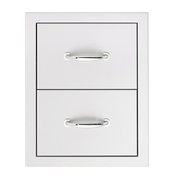 Summerset Built-in Double Drawer Set - SSDR2-17