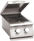 Summerset Sizzler Built-in Double Side Burner, Propane | SIZSB2-LP