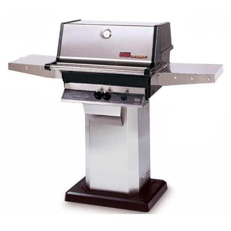 MHP TJK2 Grill On Stainless Steel Base