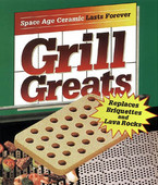 Ceramic Grate Briquettes 30 Pack, Grill Greats
