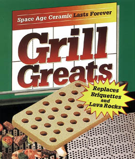 Ceramic Grill Greats Tiles