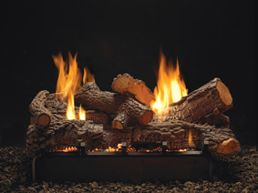 Rock Creek log and burner set