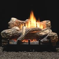 24-in Flint Hill Gas Log Set | Thermostat Valve