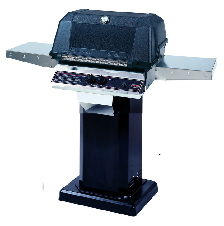 MHP WNK Grill on Column with Permanent Mounting Base