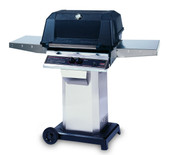 WNK Grill On Stainless Cart with Wheels
