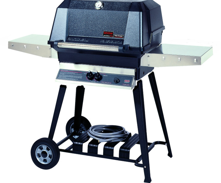 MHP WNK Grill On Cast Aluminum Open Portable Cart