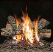 24-in Classic Charred Oak Vented Logs