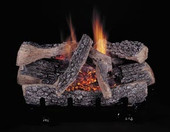"30"" Evening Embers C5-Triple Propane Burner Set HF30 logs"